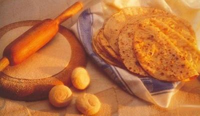 Primeros pasos en la comida típica de la India: Chapatis