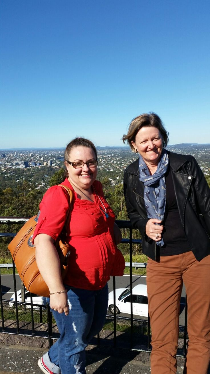 On top of Mt Coot-tha