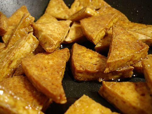 Glazed Tofu | Cooking:Tofu | Pinterest | Tofu, Carrots and Php