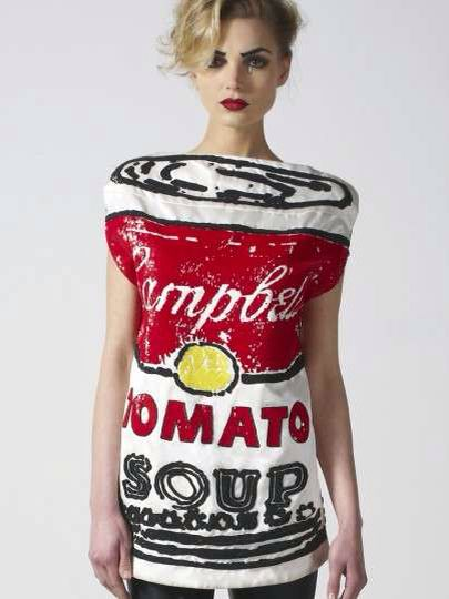 Tomato soup Campbell Dress.