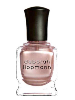 Accessorize your nails with this rose gold hue.    Deborah Lippmann Collection Nail Polish in Glamorous Life, $16, lippmanncollection.com