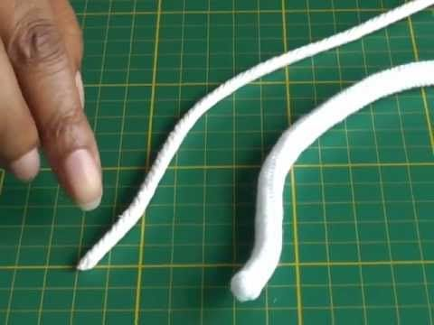 Sewing with Piping - tuto de como hacerlo y de como pegarlo, incluso en una curva