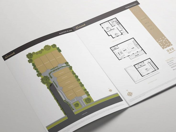 Small & Co - St Arnaud - Floorplan Booklet Design