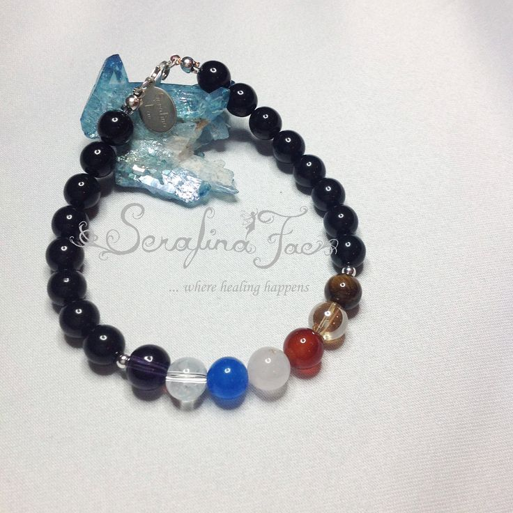 Courage Strength Faith Find your Way Crystal Healing Chakra Bracelet Spiritual Jewelry Chakra Jewelry Self Discovery Determination Willpower