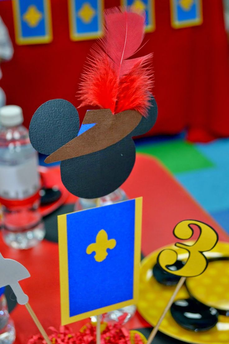 Partylicious: {Mickey Musketeer Birthday}