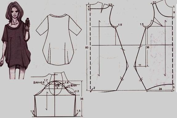 платье кокон выкройка: 8 тыс изображений найдено в Яндекс.Картинках