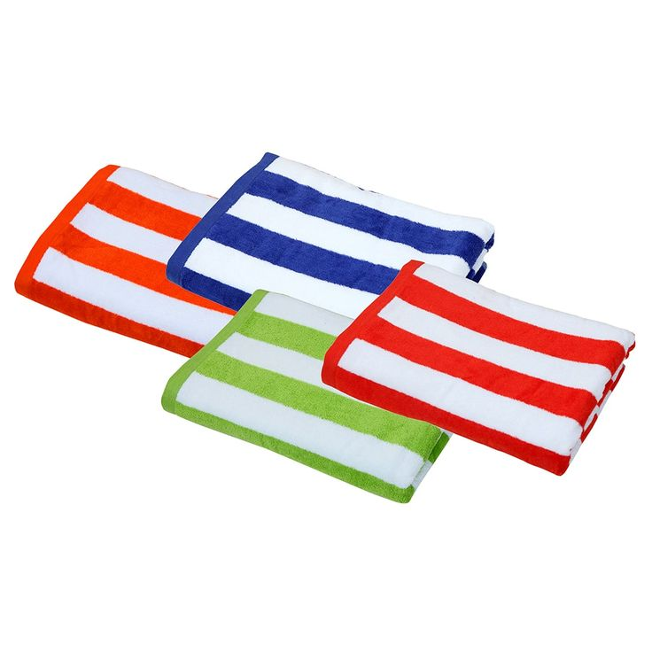 Cabana Assorted Colors 30-inch x 60-inch Beach Towels