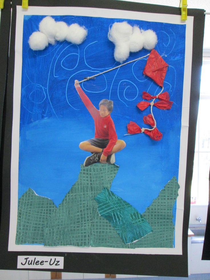 Collage Kite art
