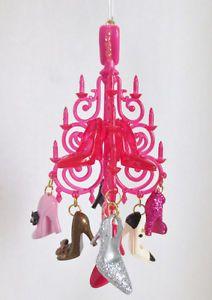 "Barbie Hallmark Keepsake Ornament ""The Shoe Chandelier"" 2012"