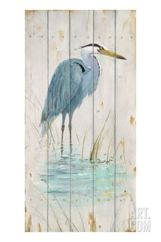 Blue Heron Giclee Print by Arnie Fisk at Art.com
