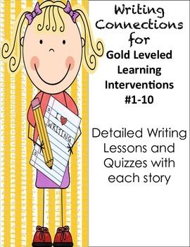 jewelry designers 4th Grade Common Core English Language Arts Writing Connections for Gold Leveled Literacy  Interventions  Common core aligned lesson plans for incorporating more writing ideas into your reading block    You can check off multiple standards while you teach the first ten lessons of the Gold Leveled Literacy Interventions