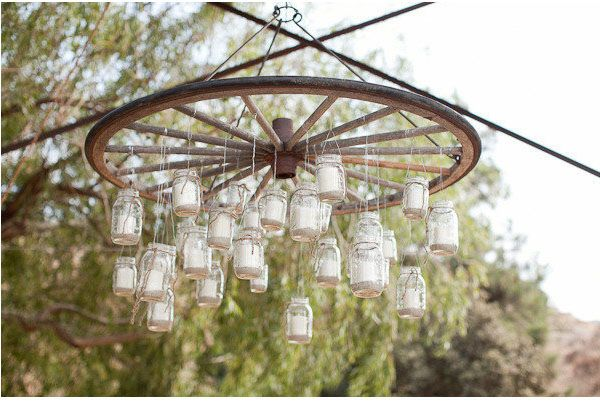 Wedding Jam Jars {Wedding Decoration Inspiration}
