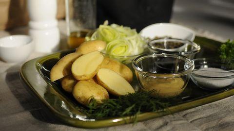 Potatis i brynt smör