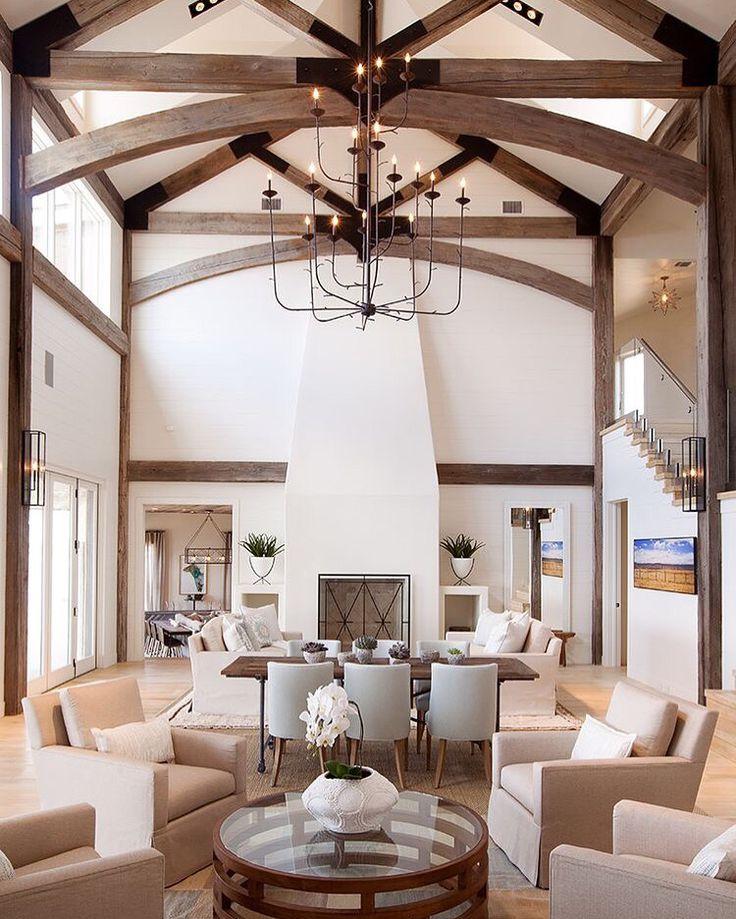 Les 19 meilleures images du tableau deco salle manger sur pinterest architecture charpente - Tableau plafond ressources caf ...