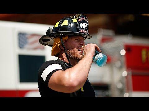 J.J. Watt Follows in His Father's Footsteps, Spends Day as Firefighter | Bleacher Report