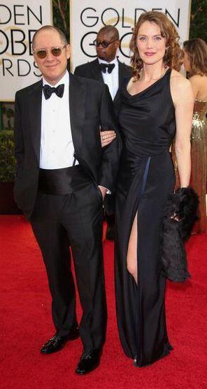 James Spader and wife Leslie