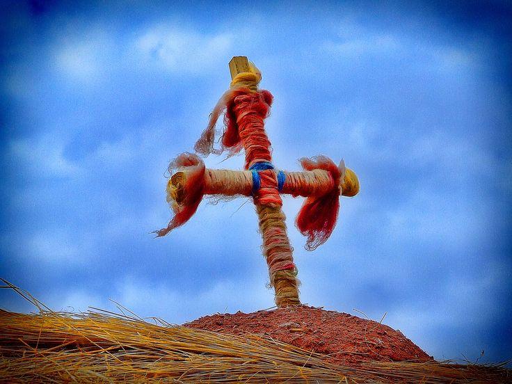 Cruz de la Capilla del pueblo de Machuca - San Pedro de Atacama - Chile