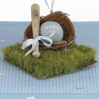 Baby Boy Centerpiece
