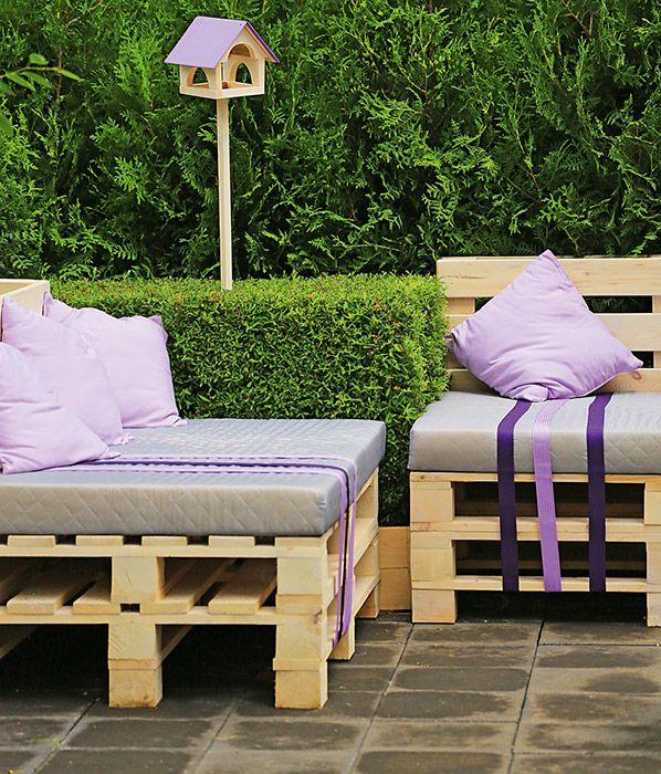 Проект выставочного сада из транспортных паллет   Проекты садов   Журнал «Дом и сад» ландшафтные дизайнеры Анна Лозинская и Анаит Акопян