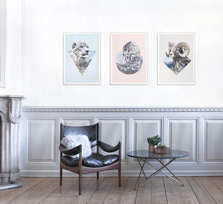 Faunascapes Plywood Art Prints #interiordesign #plyprints #plywood #artprints