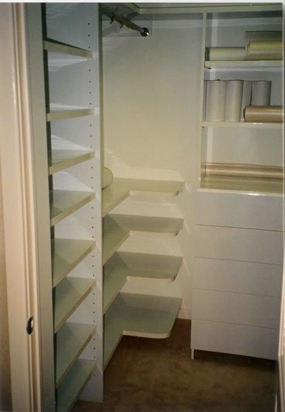 Custom Closet Corner Unit Home Decor