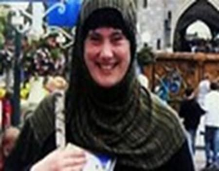 """Samantha Lewthwaite, a British citizen dubbed the """"White Widow"""", is pictured in this undated photo posted on the Interpol website"""