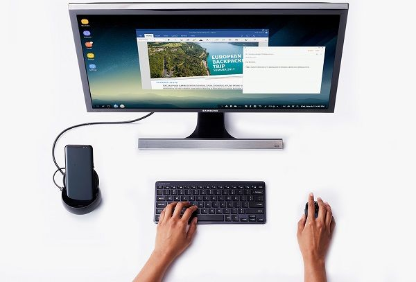 SAMSUNG DeX Station announced Convert your Galaxy S8 or S8 into a desktop computer - Price Availability #Drones #Gadgets #Gizmos #PowerBanks #Smartpens #Smartwatches #VR #Wearables @GadgetsEden  #GadgetsEden