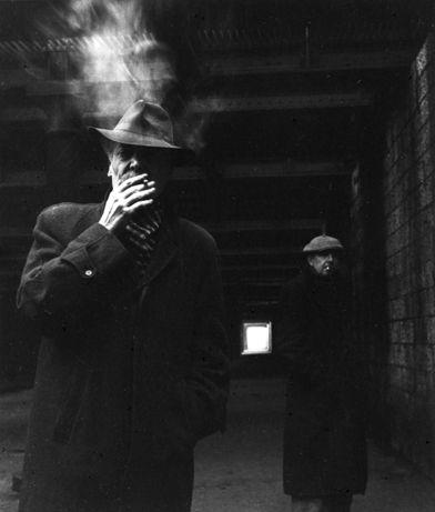 Georges et Riton. 1952. ¤Robert Doisneau. Atelier Robert Doisneau | Site officiel