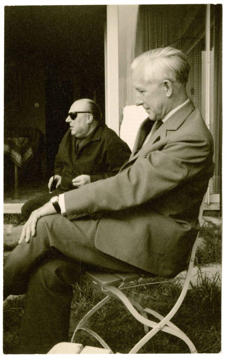 Ernst von Salomon (September 25, 1902 - August 9, 1972) & Ernst Jünger (March 29, 1895 - February 17, 1998), 1950s