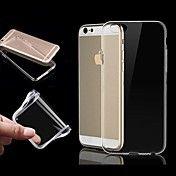 TPU ultra gjennomsiktig mykt etui for iPhone ... – NOK kr. 22