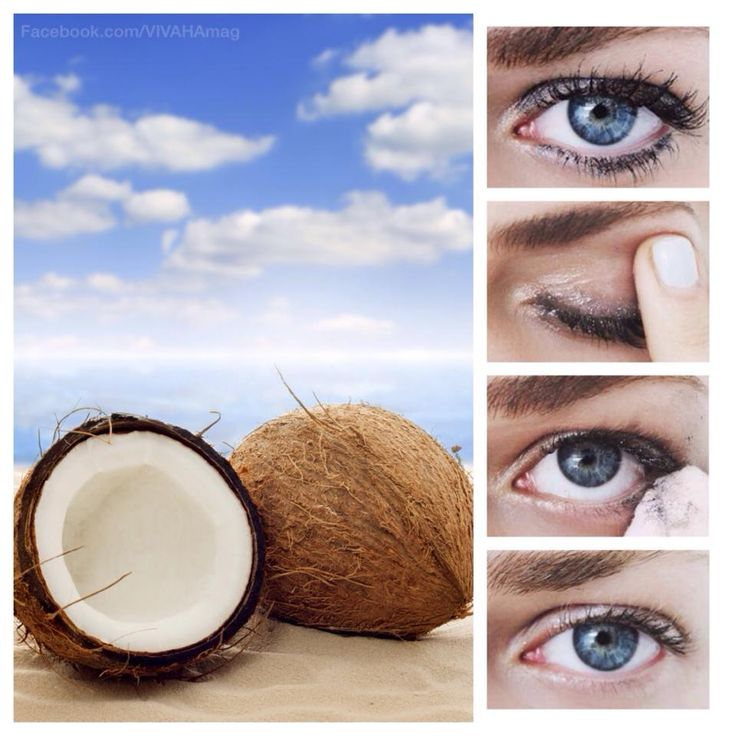 Pure coconut oil is amazing for removing even waterproof eye makeup. Take a small amount onto your fingers and gently rub around the eyes and lash line. Then wipe off. It'll leave your eye area feeling moisturised! Give it a go. We used the edible kind found in supermarkets - KTC pure coconut oil. Cheaper and a lot better for your skin. What more could we ask for?