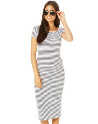 Off Shoulder Midi Dress NZD $50