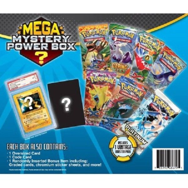 Mystery box pokémon go