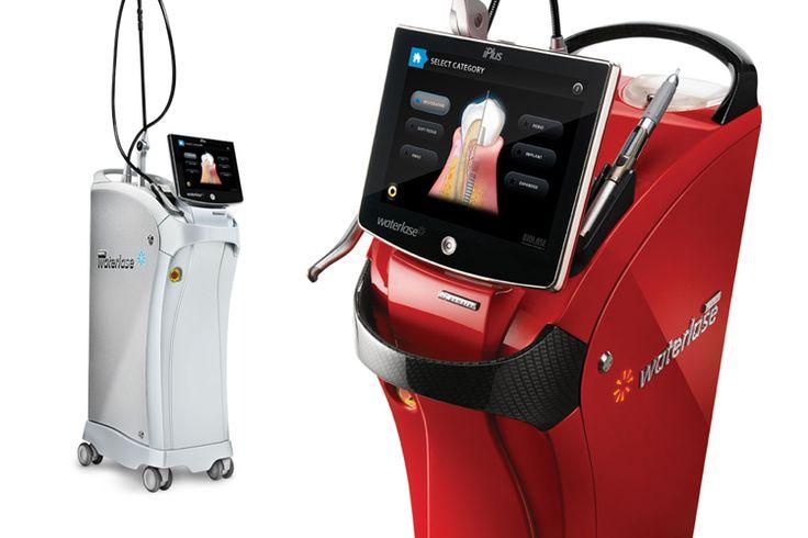 Printre procedurile efectuate cu laserul, amintim:  - Chiuretajul tesutului moale - Îndepărtarea tesuturilor bolnave, infectate, inflamate si necrozate din pungile parodontale - Indepartarea tesutului foarte inflamat si afectat de bacterii de penetrare a mucoasei pungilor - Indepartarea tesutului de granulatie de la defecte osoase - Îndepărtarea de calculi subgingivali din pungile parodontale cu parodontita prin chiuretaj închis sau deschis
