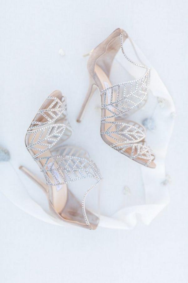 Silver grey Jimmy Choo wedding shoes   Jessica Davies Photography on @blovedblog via @aislesociety #jimmychooheelsmanoloblahnik #jimmychoowedding