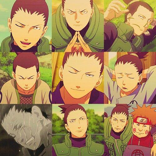 Nara Shikamaru. Cutest Expressions. The one after Asuma's death... Oh my heart