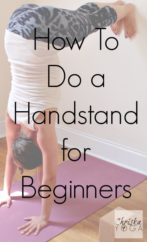 How to Do A Handstand for Beginners