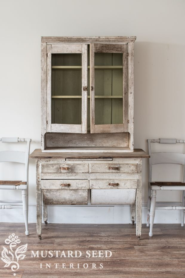 miss mustard seed | bakers table hutch #mms #missmustardseed #farmhouse #farmhousestyle #kitchen #diy #furniture #antiques