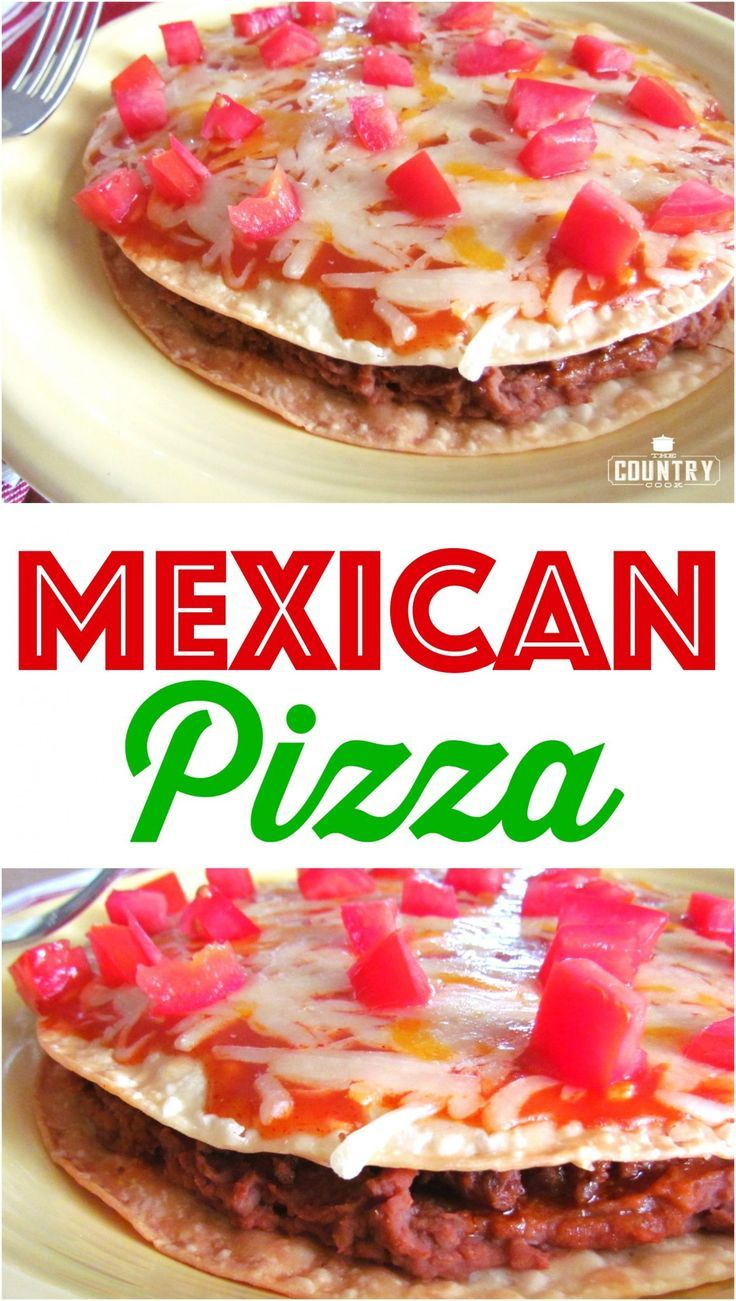 Copycat Taco Bell Mexican Pizza recipe from The Country Cook