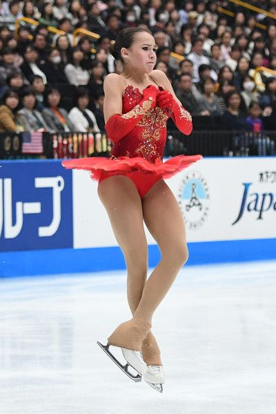 Alina Zagitova of Russia competes during the figure skating Japan Open at Saitama Super Arena on October 7, 2017 in Saitama, Japan.
