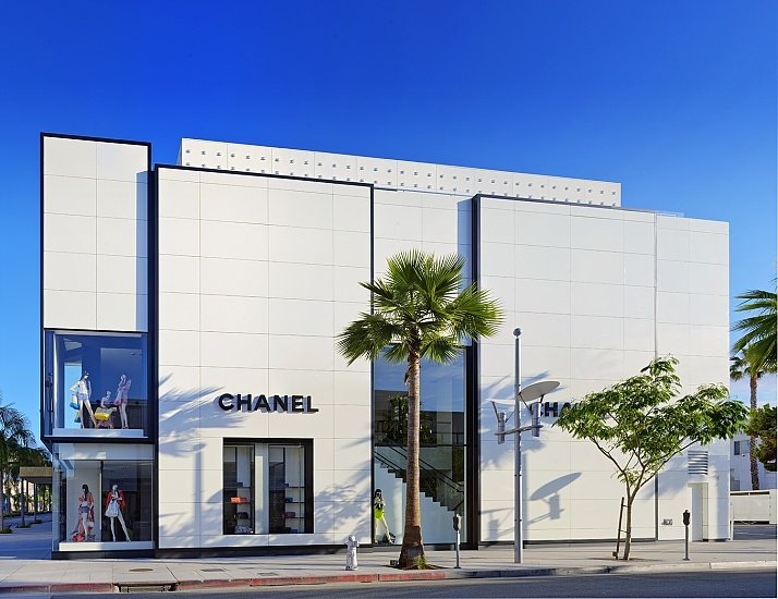 Chanel on Rodeo Drive, photographed by Zale Richard Rubins.