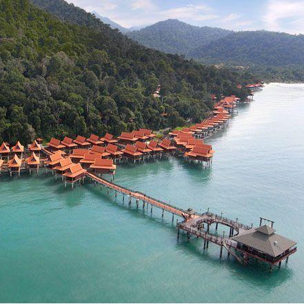Water Villas at Berjaya Langkawi Resort, Malaysia