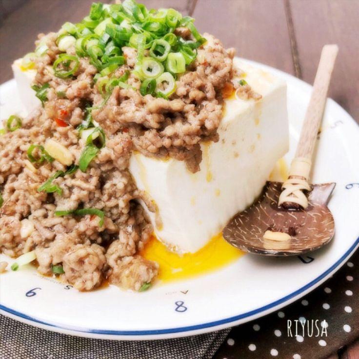 10分cook❤️皆んなで取り合う旨さ❤️乗っける麻婆豆腐