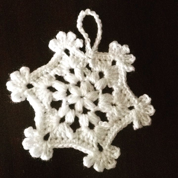 Crochet large Snowflake❄️