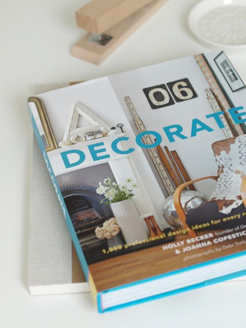 Decorate | Holly BeckerWorth Reading, Awesome Book, Becker Decor, Becker Book, Decor Book, Blog Decor8, Book Worth, Holly Becker, Book Arrival