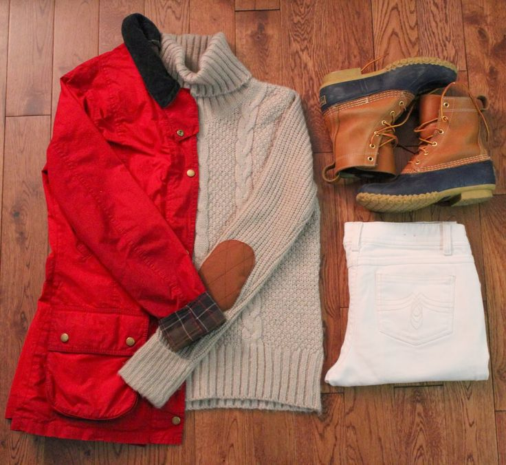Barbour and LL Bean boots