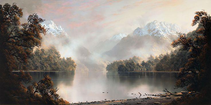 Tim Wilson - Across Lake Te Anau