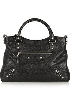 Balenciaga Town textured-leather tote   NET-A-PORTER