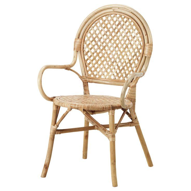 ÄLMSTA Chair - rattan - IKEA