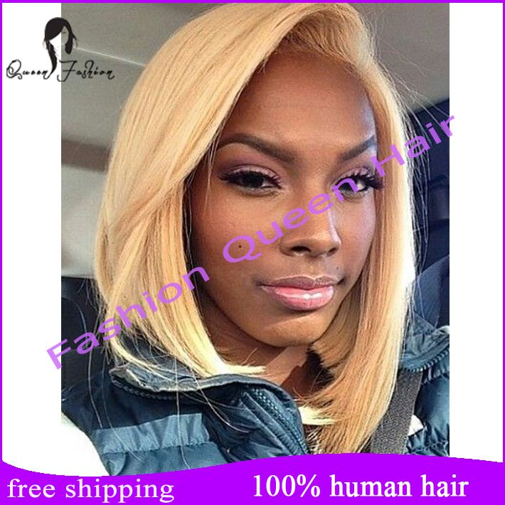 Find More Human Wigs Information About 130 Density Blonde